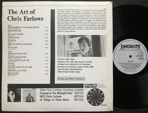 CHRIS FARLOWE - The art of.. UK-orig Immediate LP 1966