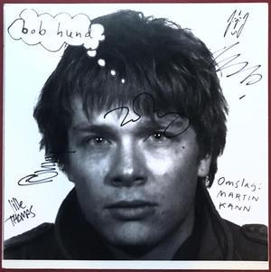 BOB HUND - Omslag: Martin Kann SIGNERAD bild