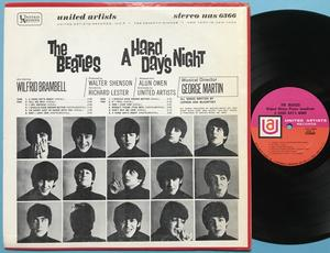 BEATLES - A hard day´s night US-orig LP 1964