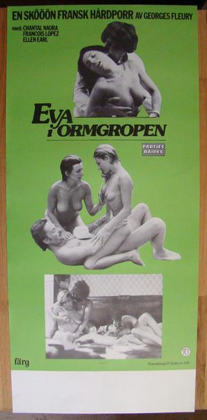EVA i ormgropen Fransk hårdporr (1977)