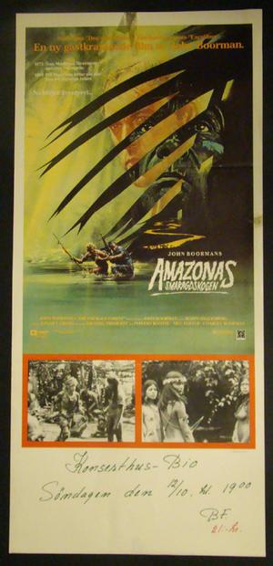 AMAZONAS SMARAGDSKOGEN  (JOHN BOORMANS )
