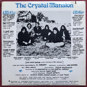 """CRYSTAL MANSION - """"same"""" US-orig LP 1972 OÖPPNAD!"""