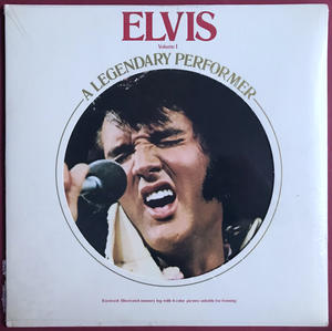 ELVIS PRESLEY - A legendary performer Vol 1 US-orig LP 1973 OÖPPNAD!