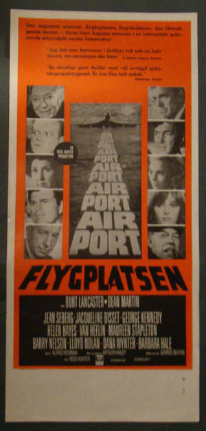 AIRPORT (BURT LANCASTER, JACQUELINE BISSET)