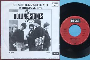 ROLLING STONES - All sold out / Connection Ger PS 1981