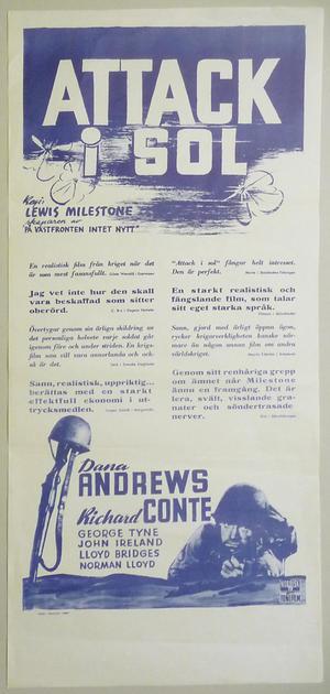 ATTACK I SOL (1951)