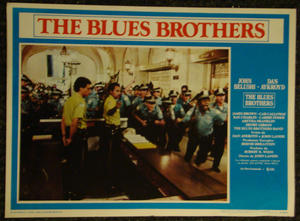 THE BLUES BROTHERS (1980) Lobbykort