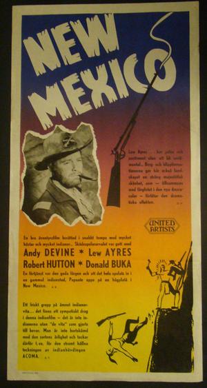 NEW MEXICO (ANDY DEVINE, LEW AYRES , ROBERT HUTTON, DONALD BUKA)
