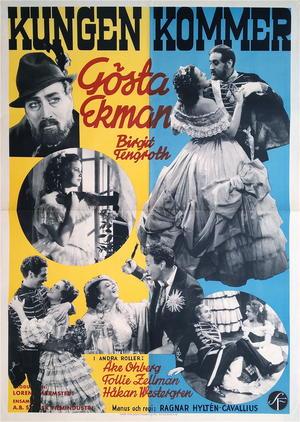 KUNGEN KOMMER (1936)