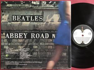 BEATLES - Abbey road UK-orig Apple LP 1969