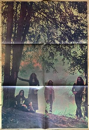 BLACK SABBATH - Master of reality Ger-orig LP + AFFISCH 1971