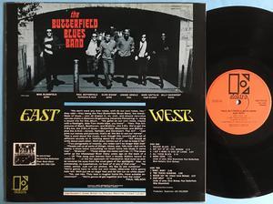 BUTTERFIELD BLUES BAND - East-West UK-orig LP 1965