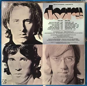 DOORS - Best of US-orig LP QUAD 1973 OÖPPNAD!