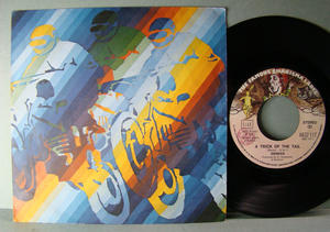 """GENESIS / Steve Hackett - A trick of the tail Italy 7"""" 1976"""