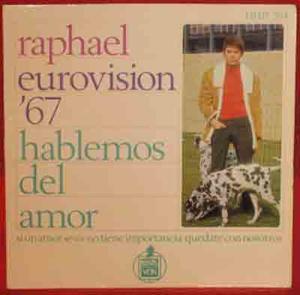 RAPHAEL EP Hablemos del amor 1967