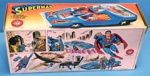 SUPERMAN - Toy car in BOX 1980