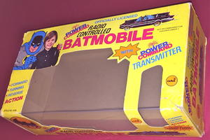BATMAN - Remote control car original in BOX 1977!