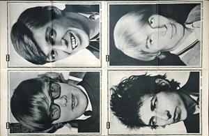 """BILDJOURNALEN no 36 1965 Heps stars """"ELEPHANT""""-poster"""