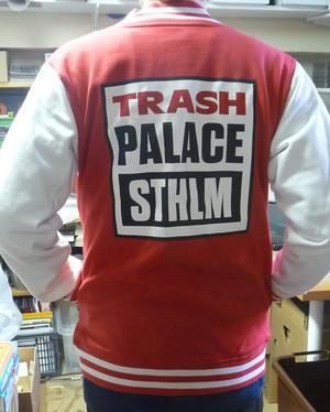 TRASH PALACE JACKET, RED