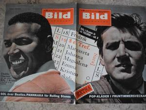 BILDJOURNALEN nr 29 1964 Chubby Checker/ Billy J Kramer