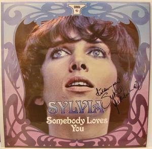Autograf: Sylvia Vrethammar - Somebody Loves... LP