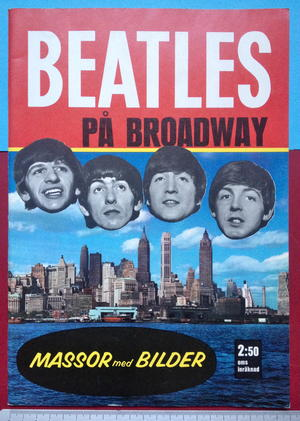 BEATLES - På Broadway