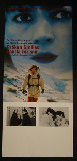 SMILLAS SENCE OF SNOW (JULIA ORMOND, GABRIEL BYRNE, RICHARD HARRIS)