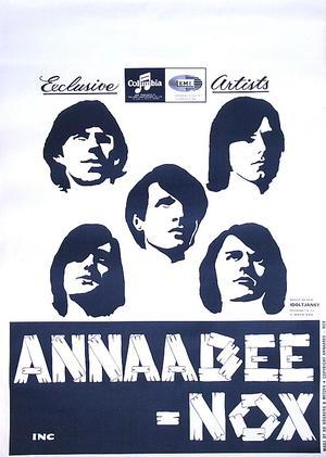 ANNAABEE-NOX (1966) - Turneaffisch
