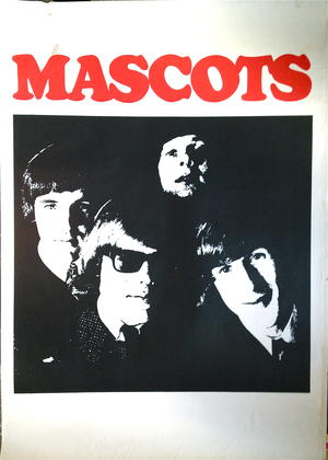 MASCOTS (1965) - Tour poster