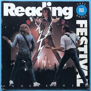 READING FESTIVAL - Concert program 1987