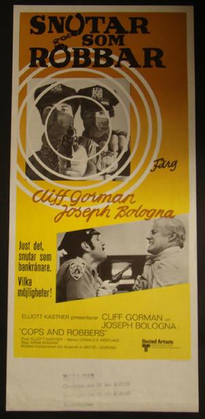 COPS AND ROBBERS (CLIFF GORMAN, JOSEPH BOLOGNA)
