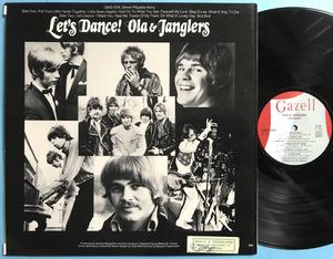 OLA & JANGLERS - Let´s dance Swe-orig LP 1968