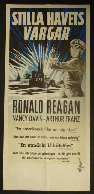 HELLCATS OF THE NAVY (RONALD REAGAN, NANCY DAVIS)