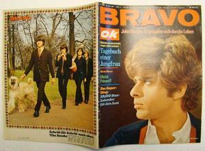 BRAVO no 23 1967 Kalendar Michel Polnareff