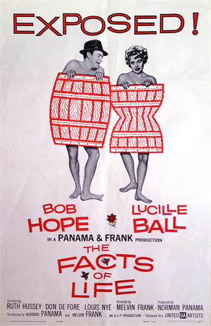 FACTS OF LIFE (1960) BOB HOPE, LUCILLE BALL
