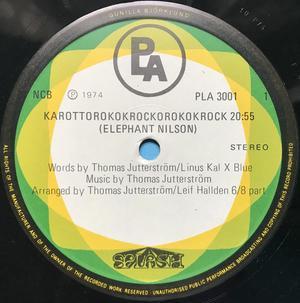 "SPLASH - ""same"" Swe-orig LP 1974"