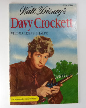 Walt Disney´s DAVY CROCKET  1956