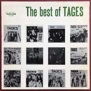 TAGES - Best of Swe-orig LP 1967