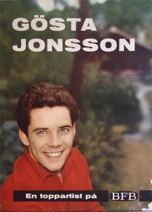 GÖSTA JONSSON (1960´s) - Promoaffisch