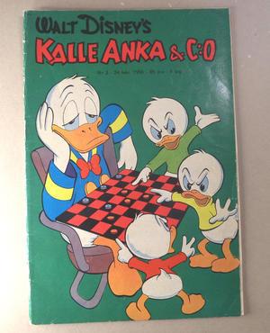 KALLE ANKA Nr 3  1956