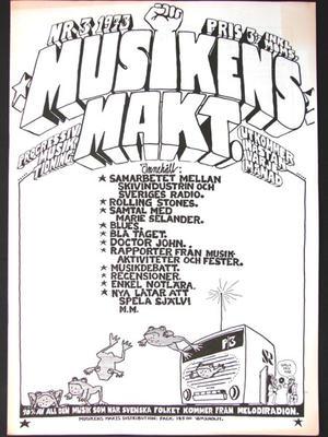 MUSIKENS MAKT - No 3 1973