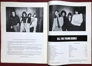 ALL THE YOUNG DUDES - Vol. 2 No 1 1977 - Patti Smith omslag