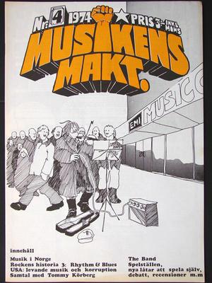 MUSIKENS MAKT - Nr 4 1974