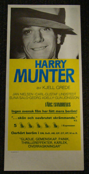 HARRY MUNTER (CARL-GUSTAF LINDSTEDT)