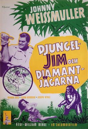DJUNGEL-JIM & DIAMANTJÄGARNA (1950´s)