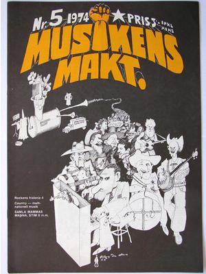 MUSIKENS MAKT - Nr 5 1974