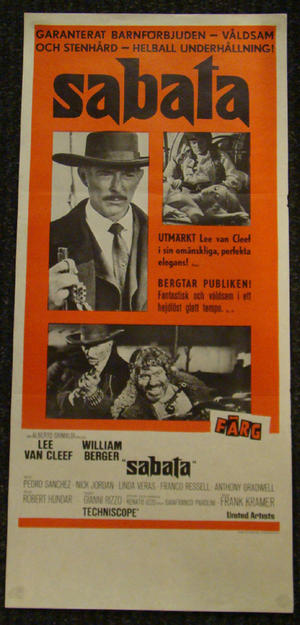 SABATA (LEE VAN CLEEF, WILLIAM BERGER)