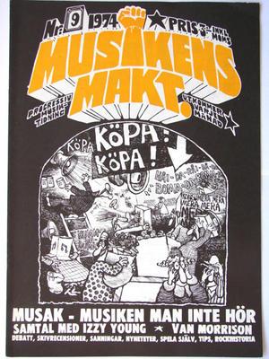 MUSIKENS MAKT - No 9 1974