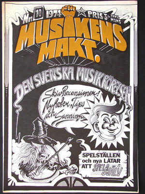 MUSIKENS MAKT - No 10 1974