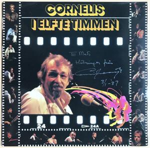 CORNELIS VREESWIJK - I elfte timmen SIGNERAD LP 1986